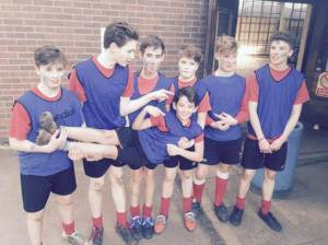 Inter-House rugby March 2015