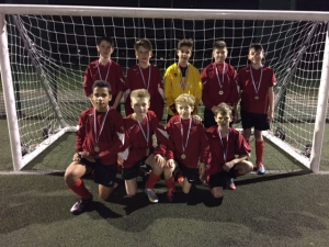 Yr 8 boys football 7aside - district runners up Nov 2015