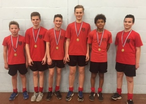 Yr 9 basketball district winners Jan 2016
