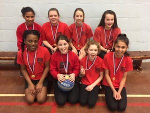Yr7 basketball district winners Feb 2016