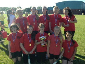 Year 7 Rounders winners 2014