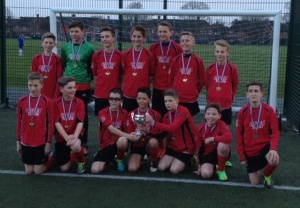 Yr 7 football cup winners 2014