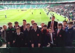 Twickenham rugby visit Feb 2016