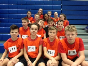 Yr 7 sportshall athletic photo Feb 2016