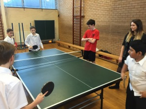 Inter-House Table Tennis
