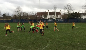 Girls Rugby tournament