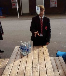 bottle-in-air